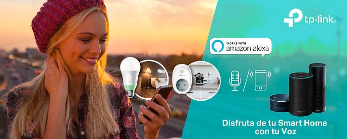 alexa, enchufes y bombillas inteligentes, tp-link, smart kasa, smarthome