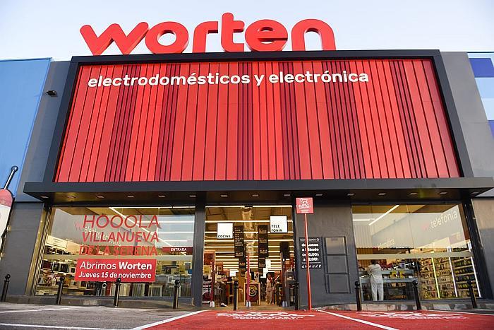 Worten abre dos nuevas tiendas en Extremadura y Canarias