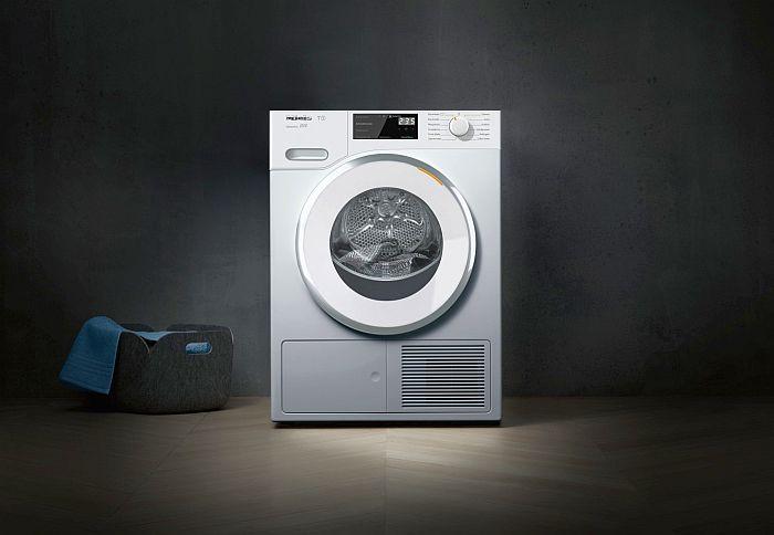 vida media electrodomésticos certificación energética A+++, intercambiador de calor sin mantenimiento, Miele, secadora TWF 500, sistema de filtros patentado, tecnología EcoDry, tecnología FragranceDos