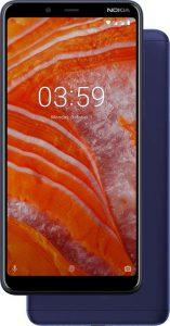 Android Oreo, Asistente de Google, corte de diamante, cristal curvado 2.5D, cubierta trasera de aluminio CNC, efecto Bokeh, Google Lens, Google Photos, HDM Global, Mediamarkt, MediaMarkt Connect, Nokia 3.1 Plus, pantalla HD+ de 6 pulgadas, Phase Detection Auto-Enfoque, procesador Helio P22 de MediaTek, The Home of Nokia Phones
