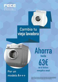 anfel, fece, federación española de comerciantes de electrodomésticos, eficiencia energética, carteles, electrodomésticos eficientes