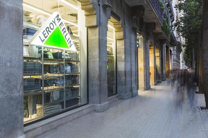 Leroy merlin urban barcelona, tienda urbana leroy merlin, inauguración, Barcelona, punto de venta, tiendas leroy merlin, plaza cataluña, catalunya