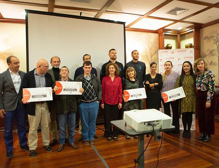 Cenor entrega sus VI Premios Solidarios