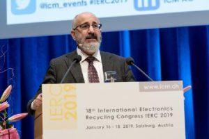 baterías de litio, Convenio de Basilea, deshechos plásticos, Directiva WEEE, EERA (European Electronics Recyclers Association), Galaxy Upcycling, normas de residuos peligrosos EPA, Panel de Recursos Ambientales Internacionales, Premio Honorífico IERC, RAEE, Samsung Electronics, Systemiq