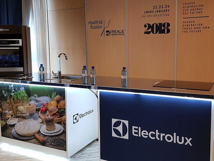 Grupo Electrolux, proveedor tecnológico de Madrid Fusión 2019