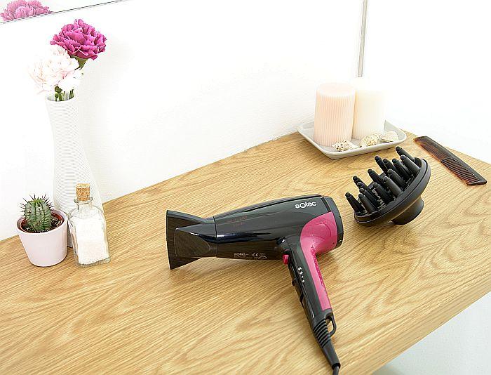 Eco-W, Fast Dry, secador de pelo, secador ultrarrápido, Solac
