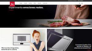 área privada, blog, chat de asistencia, Cocina, Completa tu ambiente, configurador de cocina virtual, diseño, guías de compra, imagen de marca, Teka, web