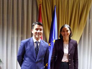 ACEMA se reúne con la Ministra de Industria