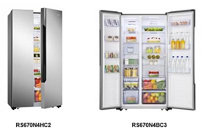 frigoríficos americanos, hisense, side by side, frío. ocu, consumidores, compra maestra, relación calidad-precio, frigoríficos hisense