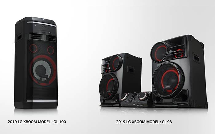 lg, lg xboom, la bestia, audio, dj, funciones de fiesta,, altavoces, equipos de música, audio, ocio, ces las vegas