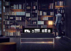 televisor lg oled enrollable, ces 2019, televisor, calidad de imagen, calidad de sonido, diseño