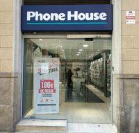 tiendas phone house barcelona, tienda de teléfonos móviles, comprar smartphone, barcelona, estacion de sants, móviles, smartphone, cadena franquiciada de telefonía