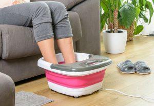 masajeador, hidromasajeador, masajeador de pies, pies, therma Hydro, solac, pequeño aparato electrodoméstico, grupo taurus, relax, salud, bienestar