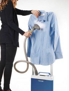 plancha, planchado vertical, ropa, polti, vaporella vertical styler, gsm20, gsm60, plancha vertical