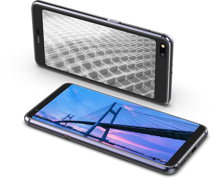 Hisense A6, smartphone, MWC19, mobile world congress, novedades, 2019, doble pantalla, hisense, 50 aniversario, teléfono movil, smartphone, terminal