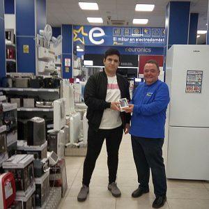 electrodomésticos, electrónica de consumo, Euronics, Euronics Tot Confort de Tarragona, iPhone X, Sinersis, Sorteo Euronics, tiendas