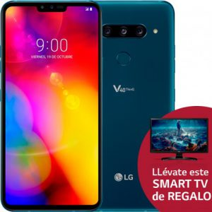 cinco cámaras, LG V40 ThinQ, pantalla OLED, smart TV, smartphones