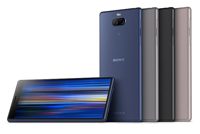 Android PieT 9.0, Black, Bokeh, Corning Gorilla Glass 5, Gold, High-Resolution Audio, LDAC, mwc 2019, Navy, pantalla Full HD+ 21:9, Pink, Qualcomm Snapdragon 630, Qualcomm Snapdragon 636, silver, Sony, Sony Xperia, tecnología SteadyShot, Xperia 1, Xperia 10, Xperia 10 Plus, Xperia L3, Xperia MWC