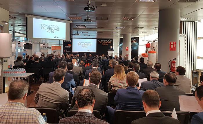 ferroli, convención anual, 2019, climatización, calderas, resultados 2018, novedades 2019, Madrid