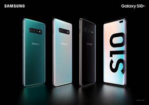 samsung galaxy S10, s10 plus, martphones, premium, triple cámara, inteligencia artificial, pantalla, teléfono móvil