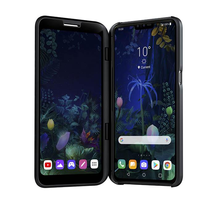 lg V50 ThinQ, smartphone, LG, MWC19, novedad, barcelona, doble pantalla, tecnología 5G, audio