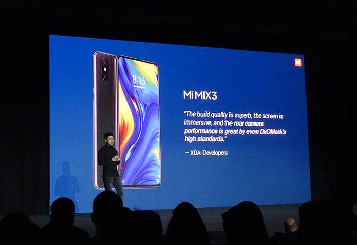 mwc19, mobile world congress, xiaomi, novedades, smartphone mi mix 3 %G, smartphone 5g, smartphone mi 9, congreso de telefonía