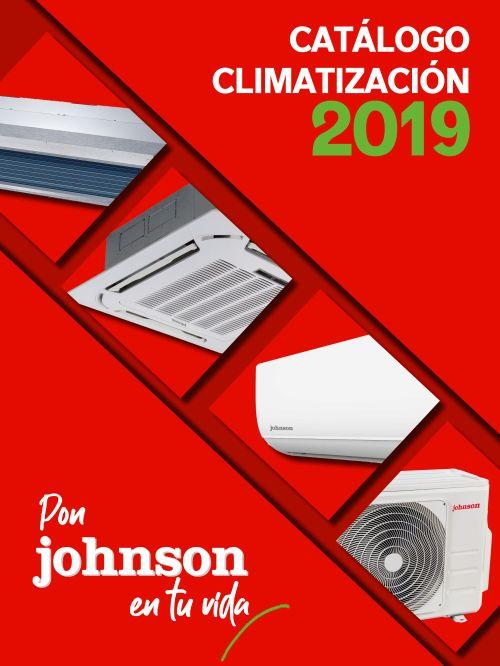 cassettes, Catálogo de Climatización 2019, Catálogo de Climatización 2019 de Johnson, conductos, eficiencia energética, gama doméstica y comercial de gas R32, gas R32, Johnson, medio ambiente, Mercaluz, multisplits, splits