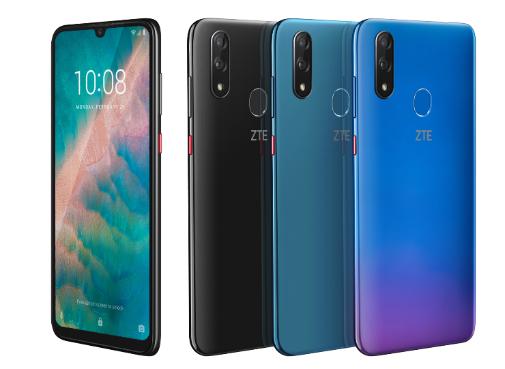 teléfono móvil, ZTE Blade V10, cámara para selfies, smartphone, MWC, teléfono móvil, inteligencia artificial, cámara inteligente, 32 Mpx