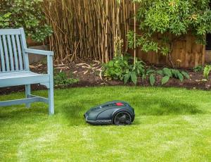 Bosch, robot cortacésped, Indego S+, conectado, robot, parte meteorológico, robot inteligente, nuevas funciones, césped.