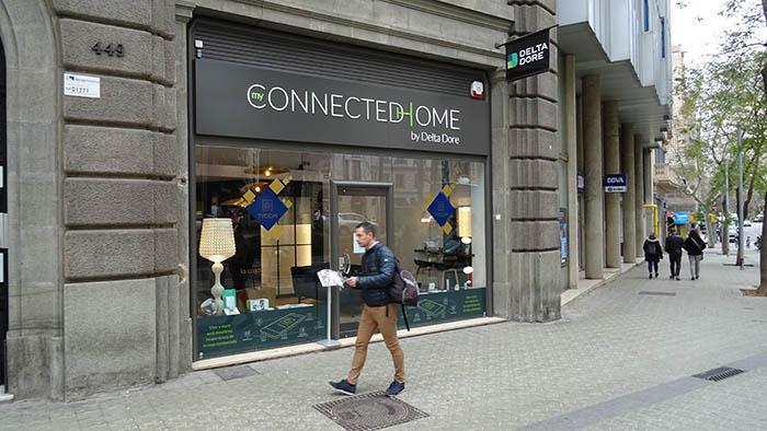 Delta Dore, Concept Home Barcelona, tienda, hogar conectado, radiofrecuencia, modulos domóticos, termostatos, domotizar persianas, iluminación, joan carles rubio, canal instalador, canal electro, hogar conectado, pasarela