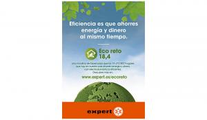 expert eco reto 18,4, expert, eco reto, electrodomésticos eficientes, calentamiento global, ahorro energético, comprar electrodomestico, tiendas expert, tienda electro
