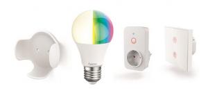 gama smart home de hama, productos hogar conectado, hogar inteligente, enchufes, bombillas, asistentes, detectores, seguridad, iluminación, hama