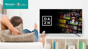 DAZN, televisores hisense, smart tv, contenidos, deporte, plataforma, competiciones deportivas