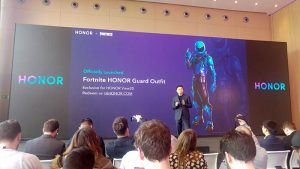 Honor, gaming, gaming +, 60 fps, experiencia gaming, smartphone honor view 20, fortnite, skin