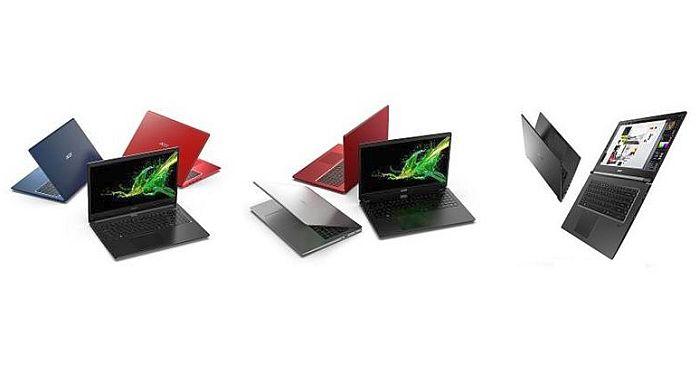 Acer Aspire 3, Acer Aspire 5, Acer Aspire 7, aluminio pulido con chorro de arena, AMD Ryzen, antenas inalámbricas 802.11ac, BluelightShield, Cortana, Full HD IPS. Acer Color Intelligence, GTX, Intel Core i7 de octava generación, memoria DDR4, MX250, NVIDIA GeForce, puerto HDMI, puertos USB, Radeon, Skype for Business., SSD PCIe, teclado Chiclet, tecnología MU-MIMO, TouchPad de Precisión, TrueHarmony, Windows 10, Windows Hello