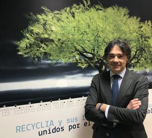 director general de Recyclia, Ecoasimelec, Ecofimática, Ecopilas, Gabriel García, pilas, reciclaje, residuos electrónicos (RAAE) —