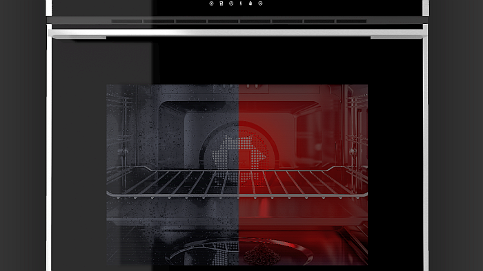 doble sistema de autolimpieza DualClean, Dualclean, electrodomésticos de cocina, horno pirolítico iOven P, Hornos, Hydroclean, Pirólisis, Teka