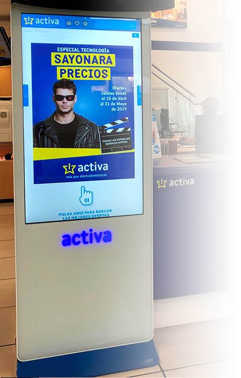 digitalización grupo activa, tienda online, vendedor digital, canal electro, distribución, tiendas activa, activa hogar, grupo activa, vendedor digital, tienda online