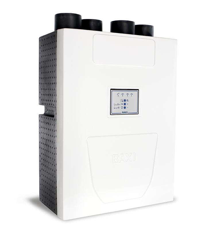 baxi, nueva gama doméstica, ventilación, gama sila, ventilación doméstica, climatización residencial, climatización, roca
