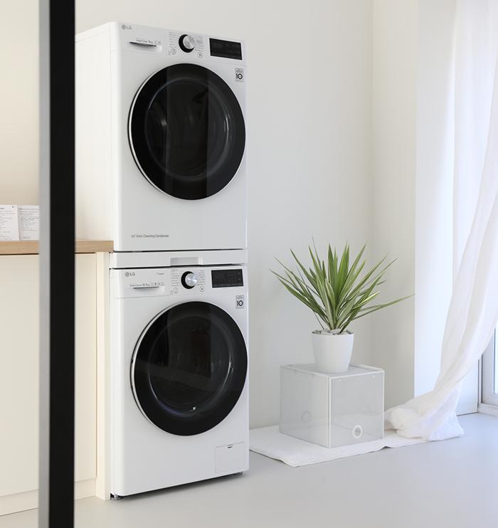 lavadoras LG, inteligencia artificial, lavado, cuidado de las prendas, ropa, tecnología, lg electronics, innofest europe