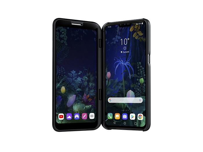 LG V50 ThinQ 5G, recor de ventas, teléfono, lanzamiento, telefonía 5G, LG, pantalla dual, dual screen, mwc 2019
