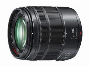 28-280 mm, accionamiento del sensor a un máximo de 240 fps, efecto de desenfoque, lentes asféricas, lentes ED (Extra-low Dispersion), Lumix G, Lumix G Vario 14-140 mm / F3.5-5.6 II ASPH / POWER OIS (H-FSA14140), montura metálica de alta fiabilidad, sistema de AF de contraste de alta velocidad y precisión, sistema de transmisión de foco interno con un motor por paso, sistema Micro Cuatro Tercios, teleobjetivos