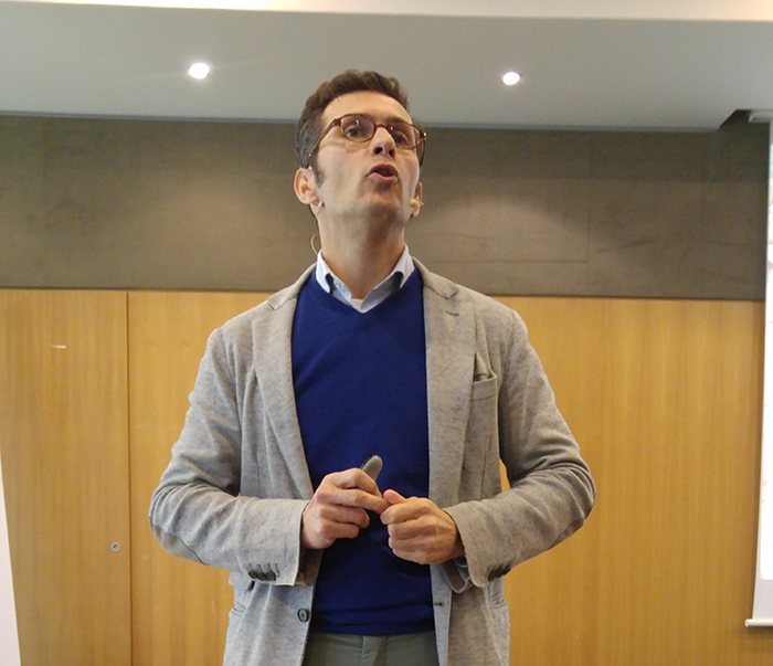 Pablo foncillas, iese, investigador, aecoc, congreso de bienes tecnológicos de aecoc, la tienda del futuro, nuevos modelos de tienda, tienda omnicanal, aecoc