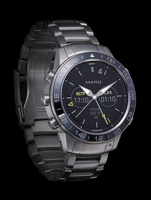 reloj inteligente, Garmin marq aviaor, colección Marq de Garmin, smartwatches Garmin Marq