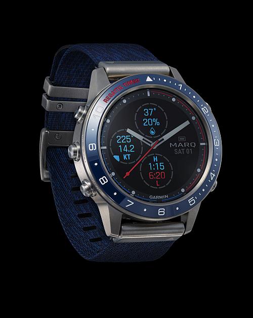 reloj inteligente, Garmin marq aviaor, colección Marq de Garmin, smartwatches Garmin Marq, Marq Captain, Marq Driver