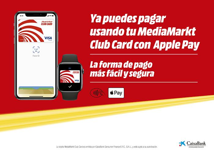 MediaMarkt, Apple Pay, sistema de pago apple, iPhone, tiendas de electrodomésticos, tiendas mediamarkt