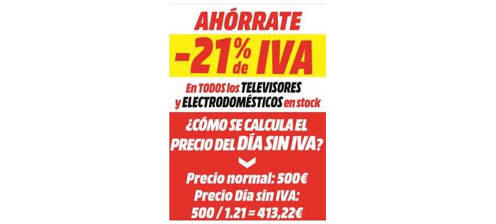 Sonitrón Mediamarkt Pone En Marcha Su Día Sin Iva 2019 Sonitrón