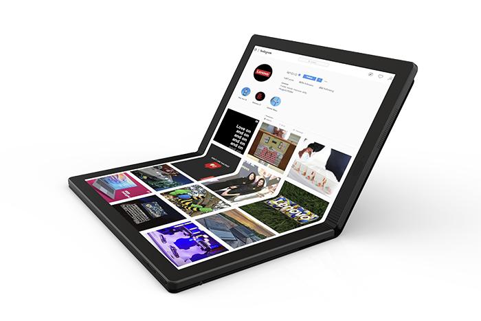Lenovo, PC plegable, ordenador plegable, lenovo thinkpad X1, lenovo thinkpad plegable, lenovo accelerate, 2020