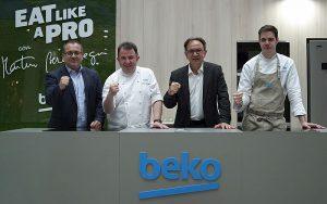 Beko, Centro Comercial Zubiarte, Eat like a Pro, Eat Like a Pro Beko, FC Barcelona, Martín Berasategui, Xabi Goikoetxea