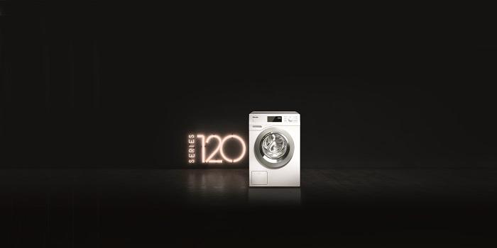 120, bajo consumo energético de sus productos, Carl Miele, Immer Besser, líneas de lavado y secado, Miele, programas de lavado inteligentes, Reinhard Zinkann, sistema de dosificación automática, tambor Softronic, TwinDos, WCG 125 XL, WDD 020